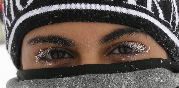frozen eyes
