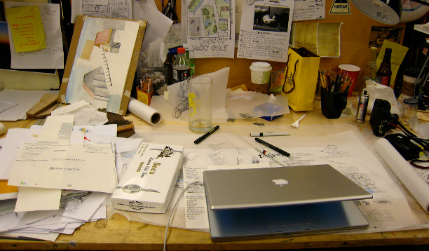 Messy Desk